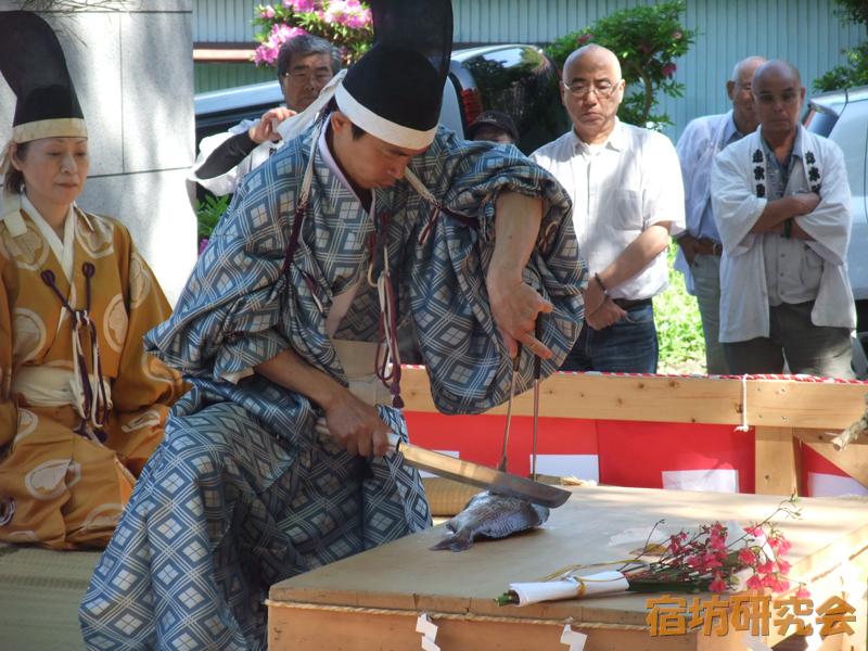 走水神社の庖丁供養祭