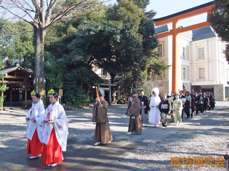 川越氷川神社の神前結婚式
