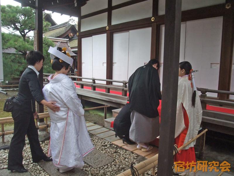 下鴨神社の神前結婚式