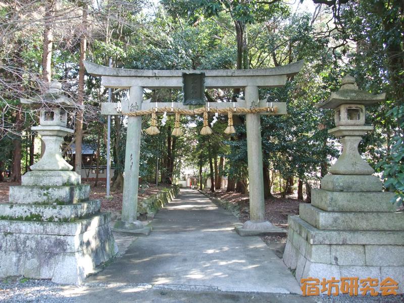 鷺森神社(京都市左京区)
