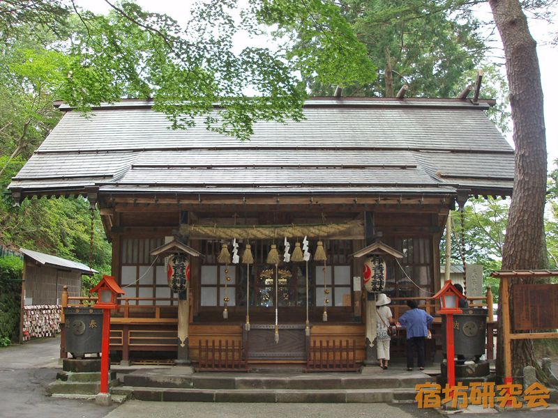 伊香保神社(群馬県渋川市)