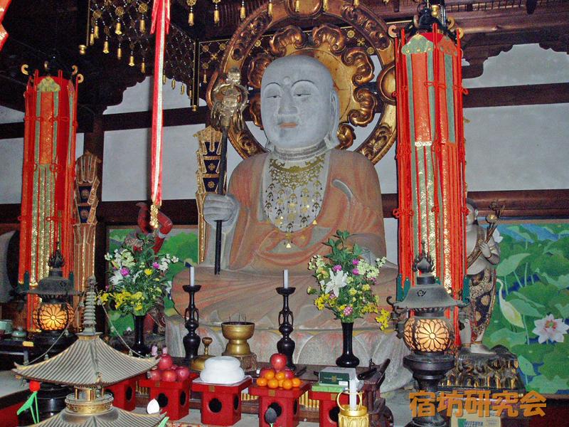 聖林寺の地蔵菩薩