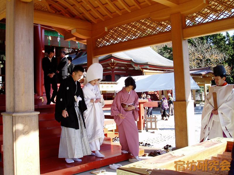 鶴岡八幡宮の神前結婚式