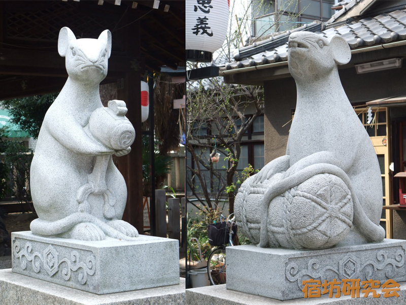 大国主神社のこま鼠