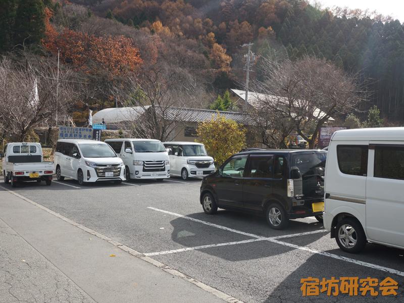 浄光寺の駐車場