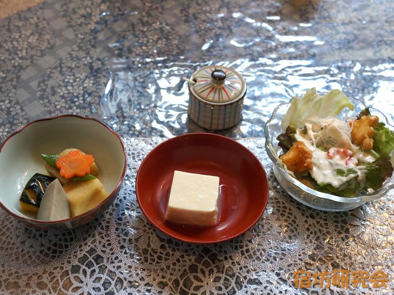 浄光寺(茶房まめ家)の奴豆腐