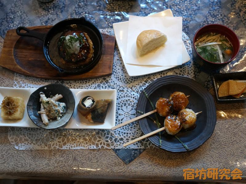 浄光寺(茶房まめ家)の豆腐料理