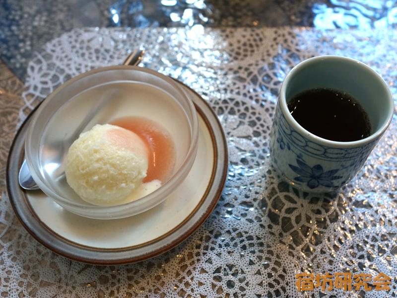 浄光寺(茶房まめ家)の豆乳シャーベット