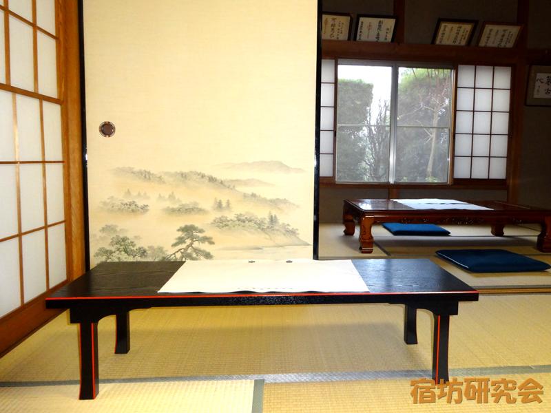 春山寺の写経会