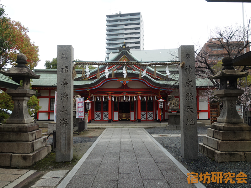 玉造稲荷神社(大阪府大阪市 玉造駅)