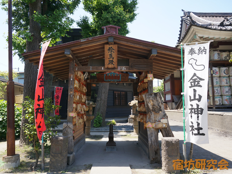 金山神社(神奈川県 川崎大師駅)