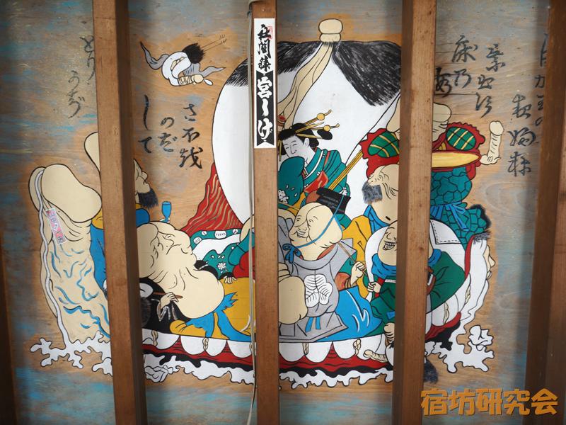 金山神社の七福神