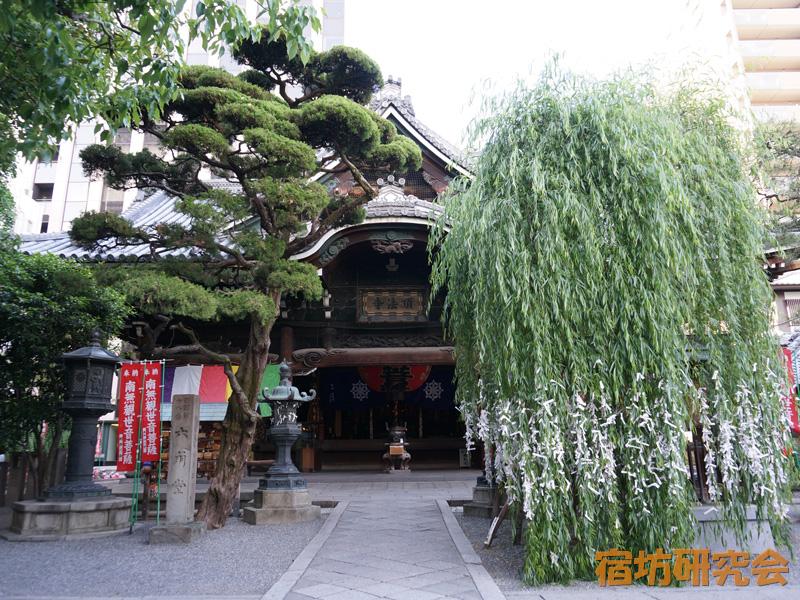 六角堂(頂法寺)の縁結びの柳