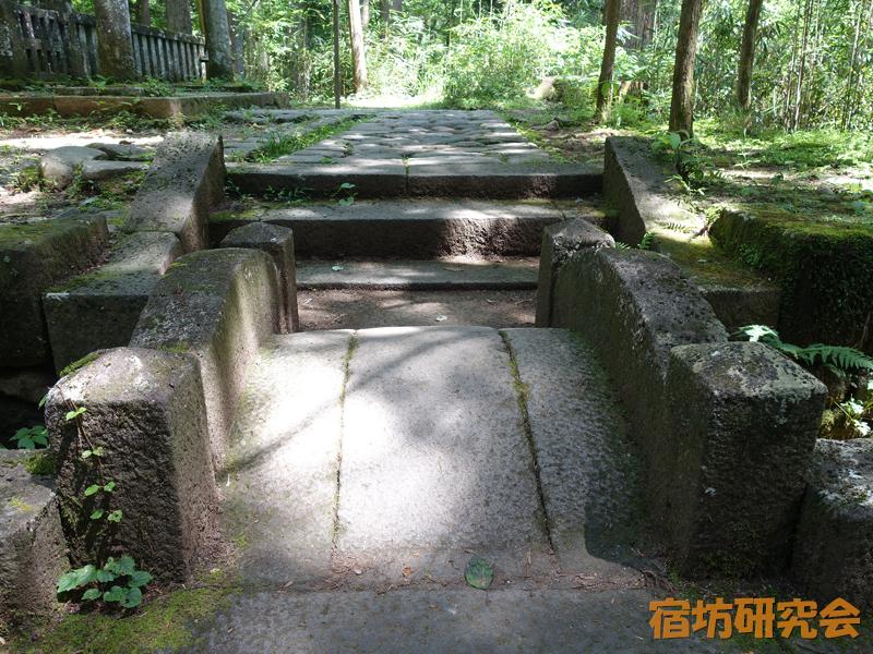 滝尾神社の無念橋(願い橋)
