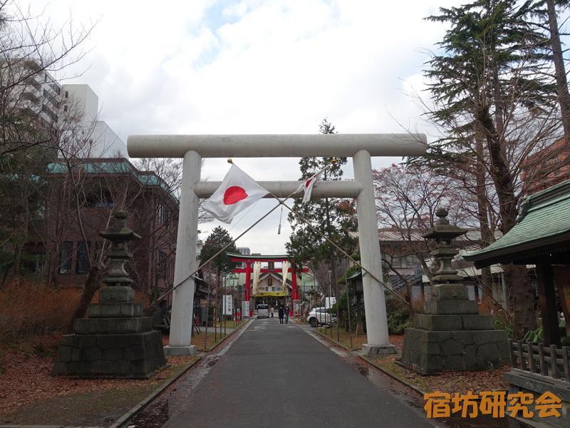 善知鳥神社(青森県青森市 青森駅)