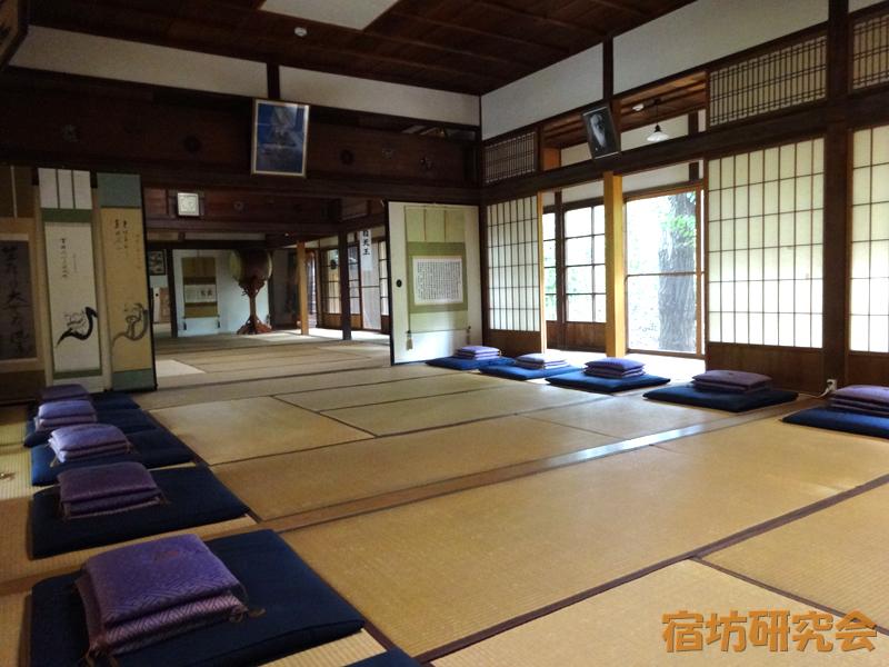 護国寺の坐禅室