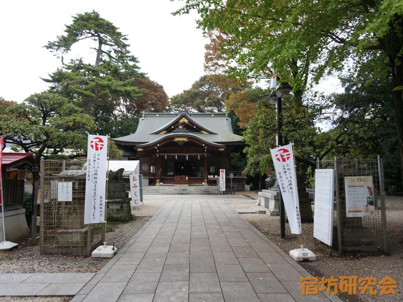 布多天神社(東京都 調布駅)