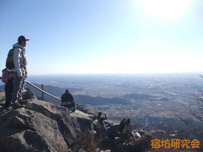 筑波山神社の登山風景