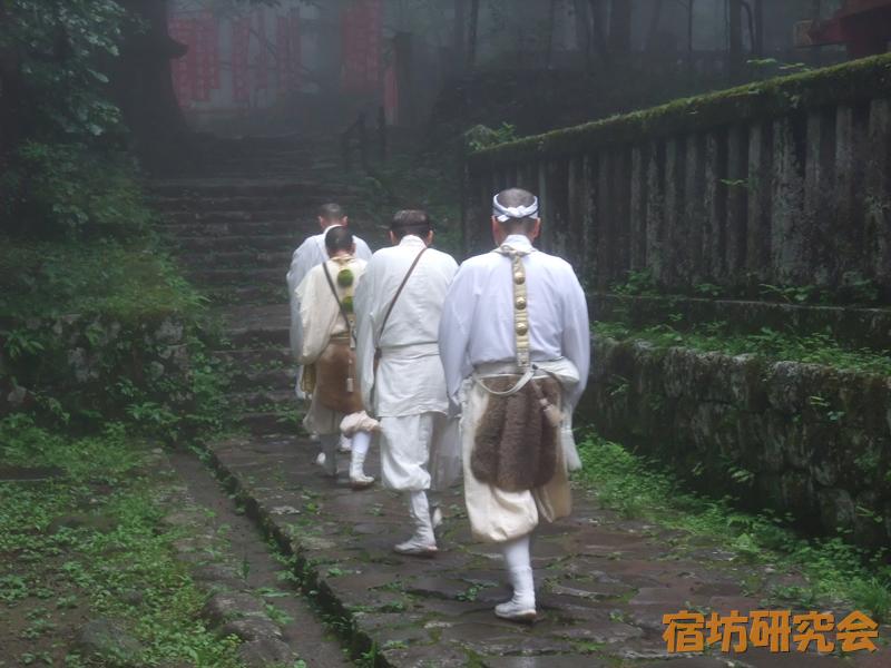 滝尾神社の修験者