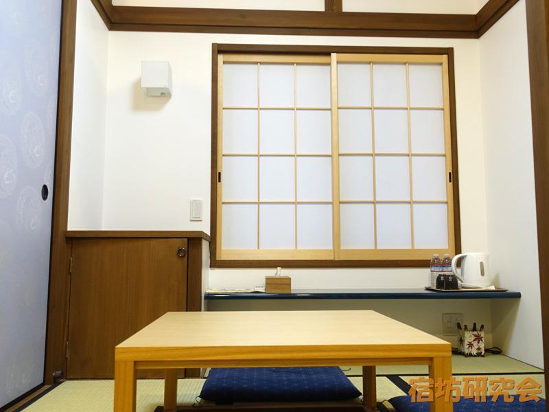 立本寺宿坊の客室
