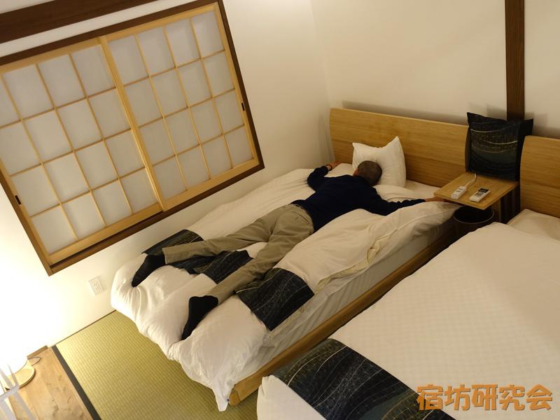 立本寺宿坊の寝室