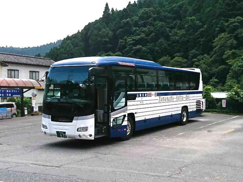 新宿から身延山への直通バス