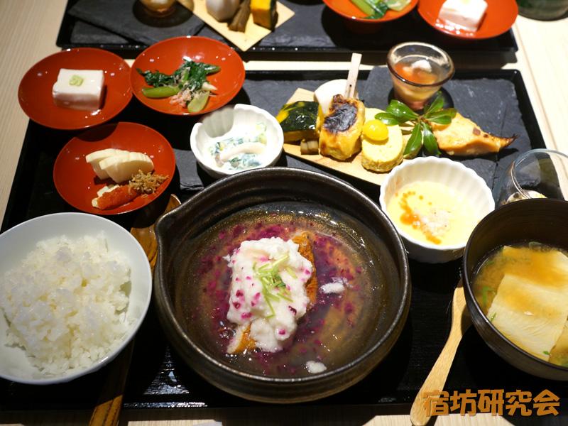 三井ガーデンホテル京都河原町浄教寺の朝食