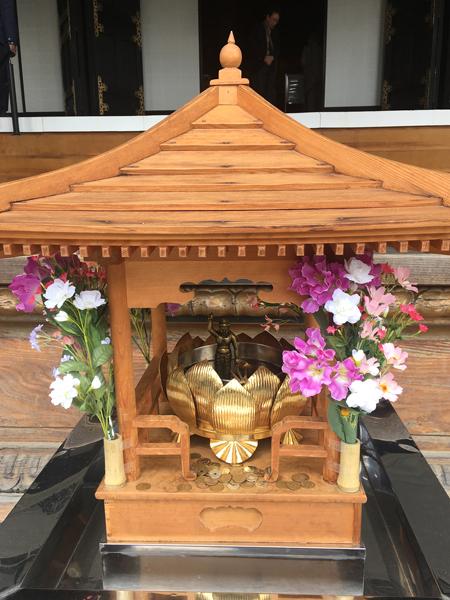 身延山久遠寺の花まつり